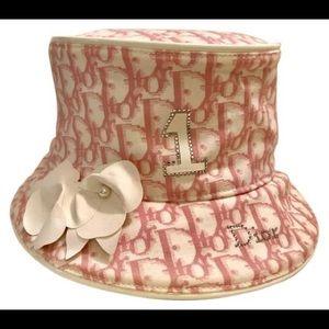 INTEREST CHECK! Pink Dior Bucket Hat